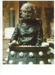 David Gooderson DOCTOR WHO Davros (Destiny of the Daleks) Genuine Signed Autograph 10x8 COA 243